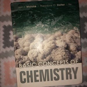Basic Concepts of Chemistry Textbook